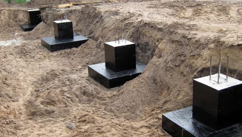 Железобетонные фундаменты для металлических колонн